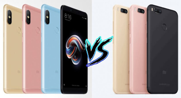 Xiaomi Redmi Note 5 Pro против Xiaomi Mi A1: битва MIUI против Android One